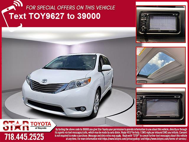 Pre-Owned 2013 Toyota Sienna 5dr 7-Pass Van V6 Ltd AWD (Natl)