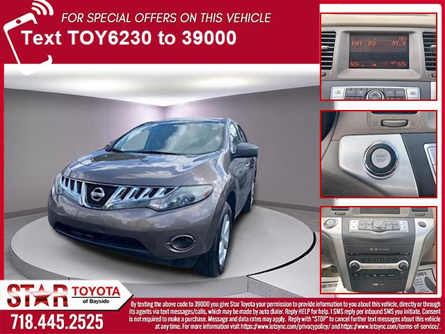 Pre-Owned 2010 Nissan Murano AWD 4dr LE