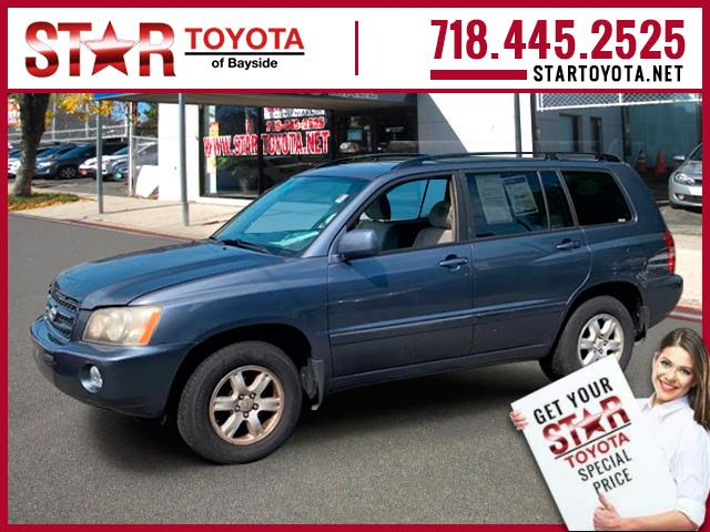 Pre-Owned 2003 Toyota Highlander 4dr V6 (Natl)