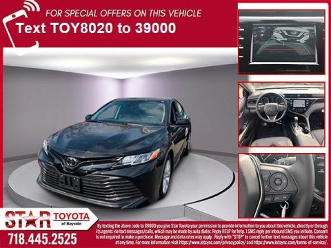 Certified Pre-Owned 2019 Toyota Camry LE Auto (Natl)