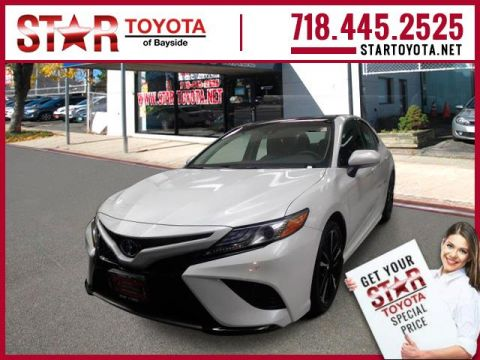 Certified Pre Owned 2018 Toyota Camry Xse Auto Natl In Bayside 25223t Star Of