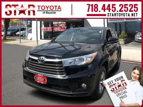Certified Pre-Owned 2015 Toyota Highlander AWD 4dr V6 LE (Natl)