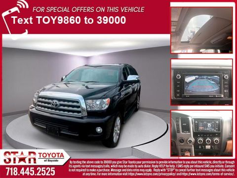 Certified Pre-Owned 2016 Toyota Sequoia 4WD 5.7L Platinum (Natl)