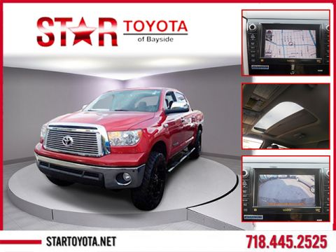 Certified Pre-Owned 2013 Toyota Tundra 4WD Truck CrewMax 5.7L V8 6-Spd AT LTD (Natl)
