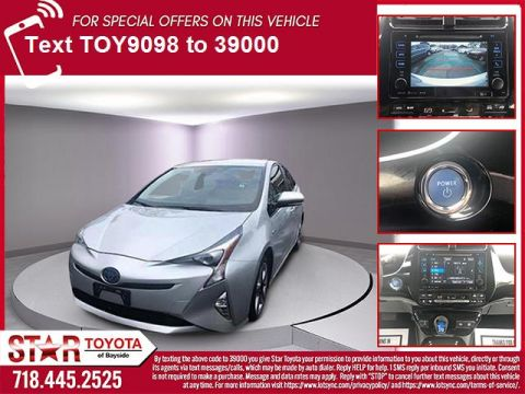 Certified Pre-Owned 2016 Toyota Prius 5dr HB Three Touring (Natl)