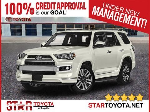 New 2018 Toyota 4Runner Limited 4WD (Natl)