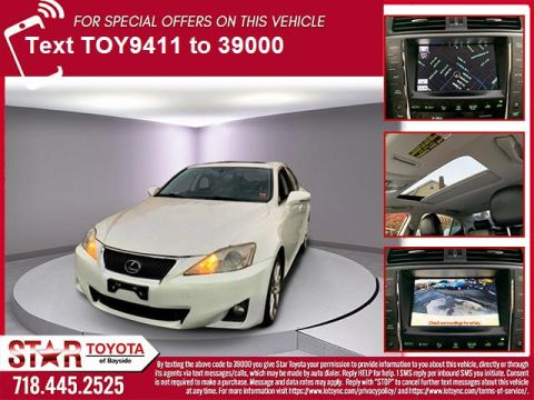 Pre-Owned 2011 Lexus IS 250 4dr Sport Sdn Auto AWD