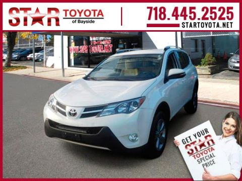 Certified Pre-Owned 2015 Toyota RAV4 AWD 4dr XLE (Natl)